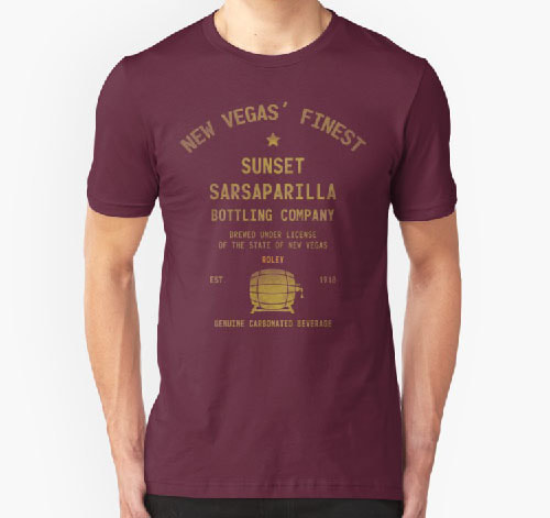 Sunset sarsaparilla shirt